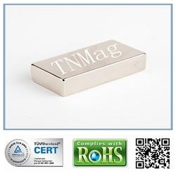 46 x 30 x 10 mm grade 40 NdFeB magnets