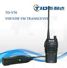 vhf 136-174mhz uhf 400-470mhz 5w handheld two way radio low power fm radio transmitter