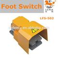 Lfs-502 15a 250 vac alüminyum alaşım ayak pedalı anahtarı