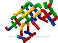 2014 sıcak satış oyuncak boru plastik enjeksiyon crosss boru, yendi boru ve t tüp