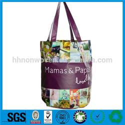 Supply non woven bag monogram canvas tote bags