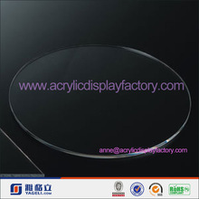 Factory wholesale acrylic round disc