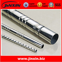 Spiral pipes spiral wound steel pipes for window fence and curtains