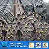 Tianjin factory ERW black steel pipe