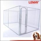 7.5'x13'x6' galvanized outdoor chain link dog kennel panels