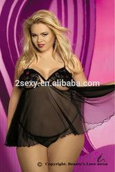 sexy lingerie sex open bra lace soft mesh XXXL plus babydoll www sex com