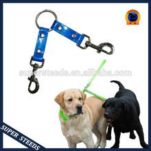 TPU/Nylon Two Ways Double Dog Couple Walking dog leash double hooks