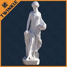 le immagini di marmo bianco statua di donna