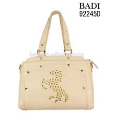 Custom laser cut horse bags fashion sac women bolsas femininas shoulder bag guangzhou bags supplier
