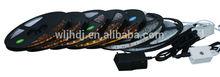 led commercial ceiling lights fitting 12V 5050 rgb SMD 5m/roll led strip RGB LED strip lights