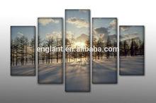 Digital photo custom canvas printing art