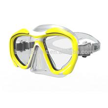 Scuba diving mask & equipment / liquid silicone diving mask/fashion design diving mask (MK-2605)