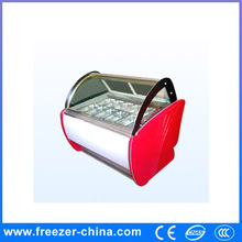 mini ice cream display freezer save electricity 500L BQL-B-1.2