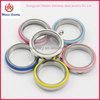 Alibaba China Jewelry Supplier 30mm Stainless Steel screw enamel Floating Lockets