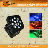 12*17W 6in1 UV Effect Battery and Wireless Auto Led Light (TH-260)