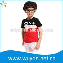 fashion kids t-shirt/kid print t-shirt/cheap wholesale 100% cotton kids t-shirt
