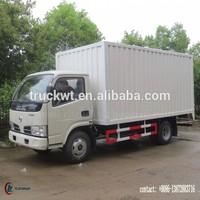 95 hp 4*2 DONGFENG Truck Van 4 ton