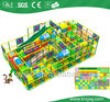 three floors indoor kid soft investing playground super long slide castle project