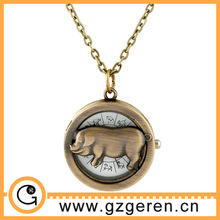 D01299o China Hot Sale Animal Toys Pocket Watch For Boys and Girls