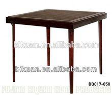 BQ square folding make a wooden folding table