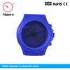 fashion scilicone african clocks gift six color is available