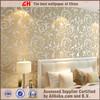 Home decor environmental wallpaper for bedroom gold wallpaper