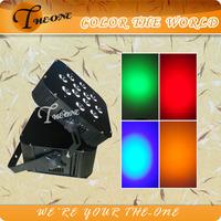 12*17W Remote Control RGBWA+UV Led Battery Black Light (TH-260)