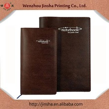 hot selling new style refillable faux cheap PU leather bound business notebook for school&office