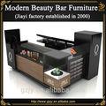 vente chaude mode noir table de manucure pour ongles meubles bar