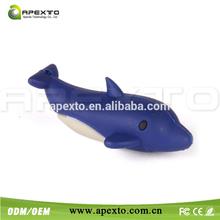 Ocean fish flash drive pvc usb memory stick manufacturer price full capacity 8gb