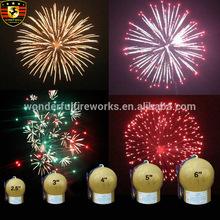 5 inch fireworks shells