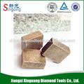 porcelana telha máquina de corte de corte de diamante segmentos