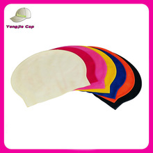 Professional factory custom high elastic latex swim caps