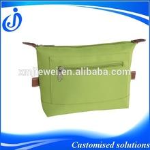 Popular Design Green Microfiber Cosmetic Bag