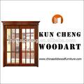 China fornecedor/sólidos de madeira de madeira porta de entrada dupla folha da porta/porta de madeira