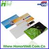 Credit card usb flash memory free cutomized logo