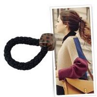 YiWu DeSai 2014 new style girls hair accessories elastic hair band stone rubber band madam Ms