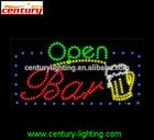 bar open animated led sign led sign