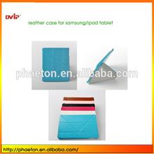 For iPad Mini 2 Folio PC and PU leather Cover,New Arrival Deformable Leather Case For iPad Mini 2