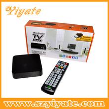 Factory price m3 amlogic 8726 single core android 4.2 tv set top box
