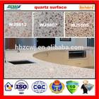 Marble pattern compressed quartz tile