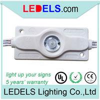 UL CE Rohs Cree 12V 2.8W 200 lm led sign lighting module lightbox for edge lit 5 years warranty waterproof
