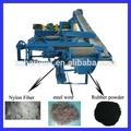 productiva de la línea de fabricación de desechos de caucho reciclado de neumáticos mantillo