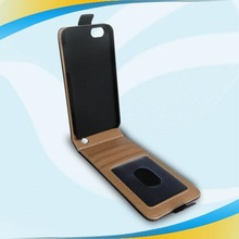Manufacture pu leather cellphone pouch for iphone 6
