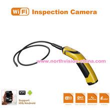 hand-held wifi snake scope camera working with mobile phone, waterproof IP67, video recording