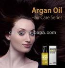 Argan oil and sweet almond oil hair care