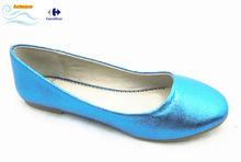 latest multi color candy color flat shoes