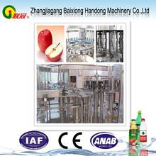fresh apple juice filling machine