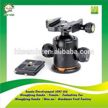 ball head rotating camera mount