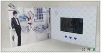 2014 latest model video greeting card brochure arabic wedding invitation cards